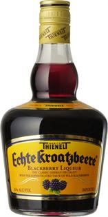 Echte Kroatzbeere Liqueur Blackberry 750ml